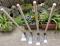 タケノコ掘りの道具