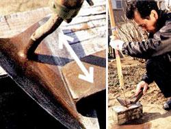 野口式万能両刃鎌の研ぎ方