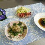 料理教室 茄子の南蛮煮